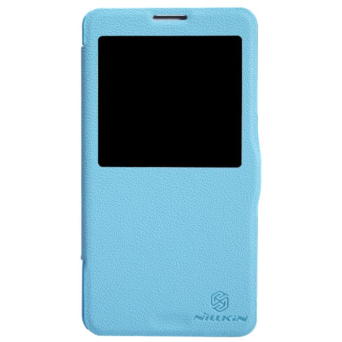 Чехол Nillkin Fresh Series для N9000\N9005 Galaxy Note 3\Galaxy Note 3 LTE, синий