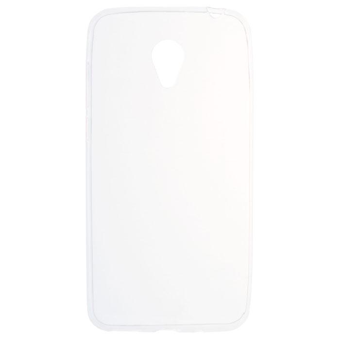 Чехол SkinBox 4People slim silicone для Meizu M2 Mini, прозрачный