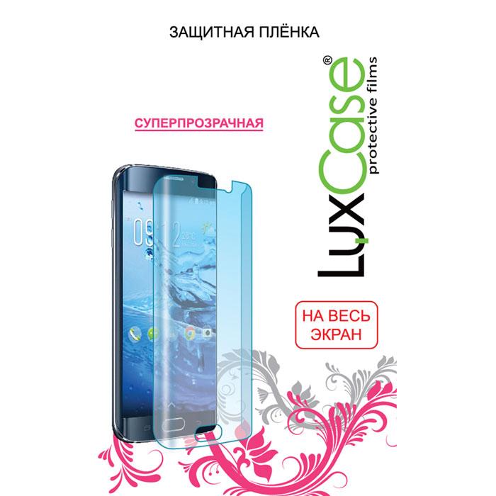 Защитная плёнка LuxCase для Alcatel One Touch Idol 4S 6070K, (На весь экран), TPU, прозрачная