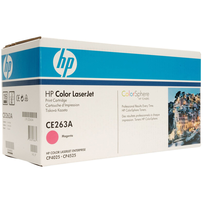 Картридж HP CE263A Magenta