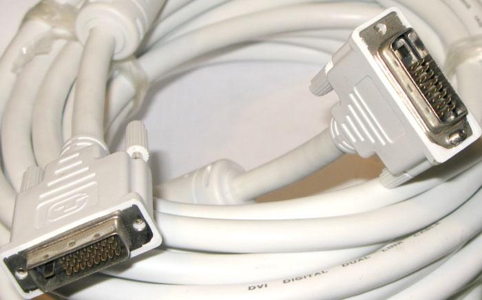 Кабель DVI-D plug-plug 10м <>