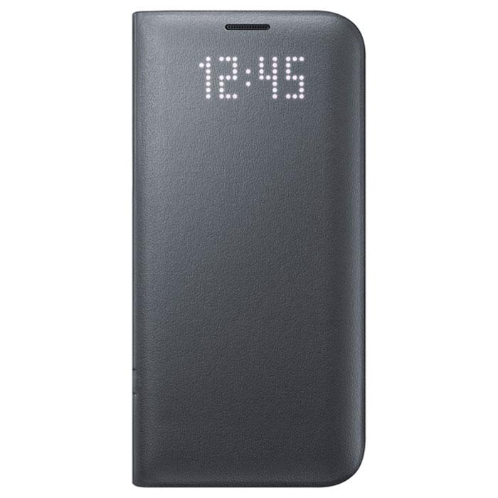Чехол Samsung LED View Cover для Samsung G935F Galaxy S7 edge, чёрный