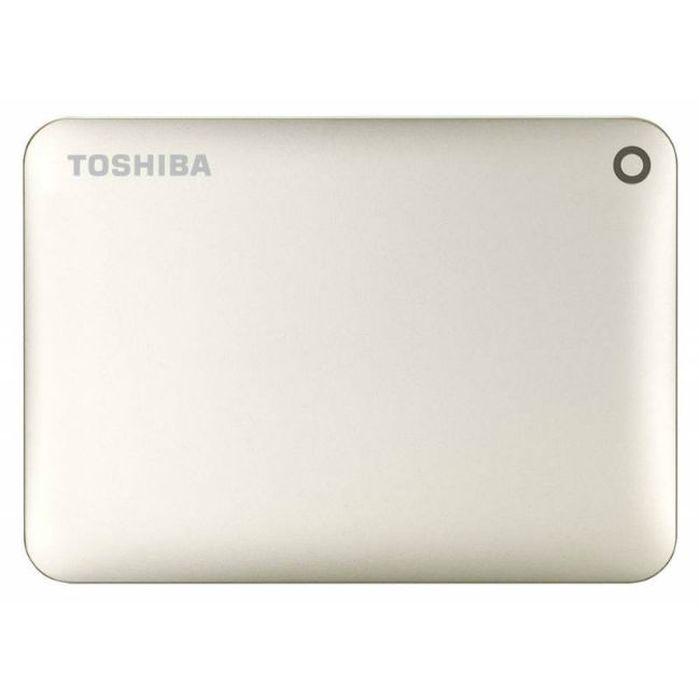 Внешний жесткий диск USB3.0 2.5″ 1.0Тб Toshiba Connect II ( HDTC810EC3AA ) золотистый