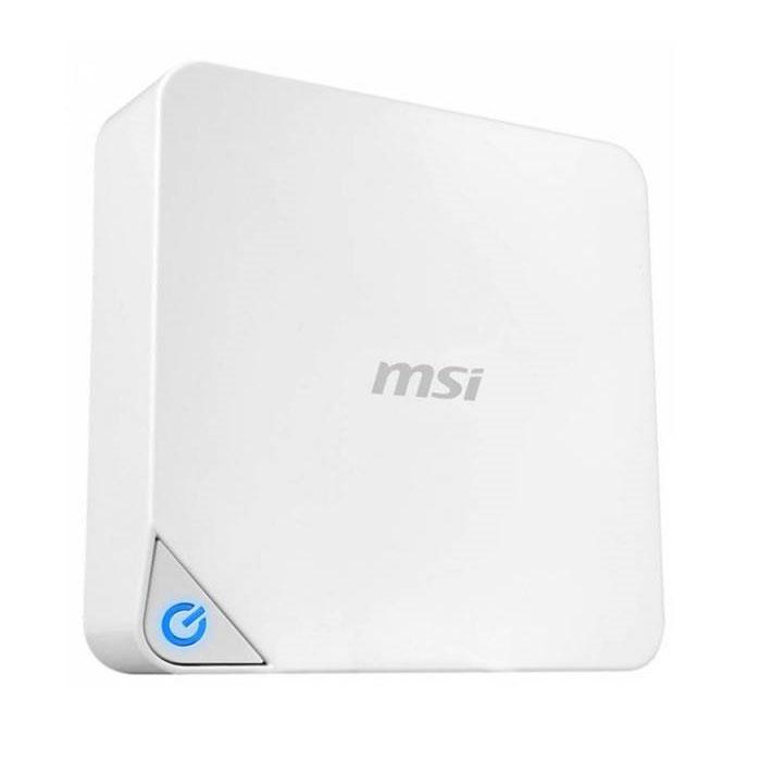 Неттоп Мини-компьютер MSI Cubi-021XRU Intel 3205U/2Gb/128Gb SSD/Intel HD/DOS белый ( 9S6-B09612-021 )
