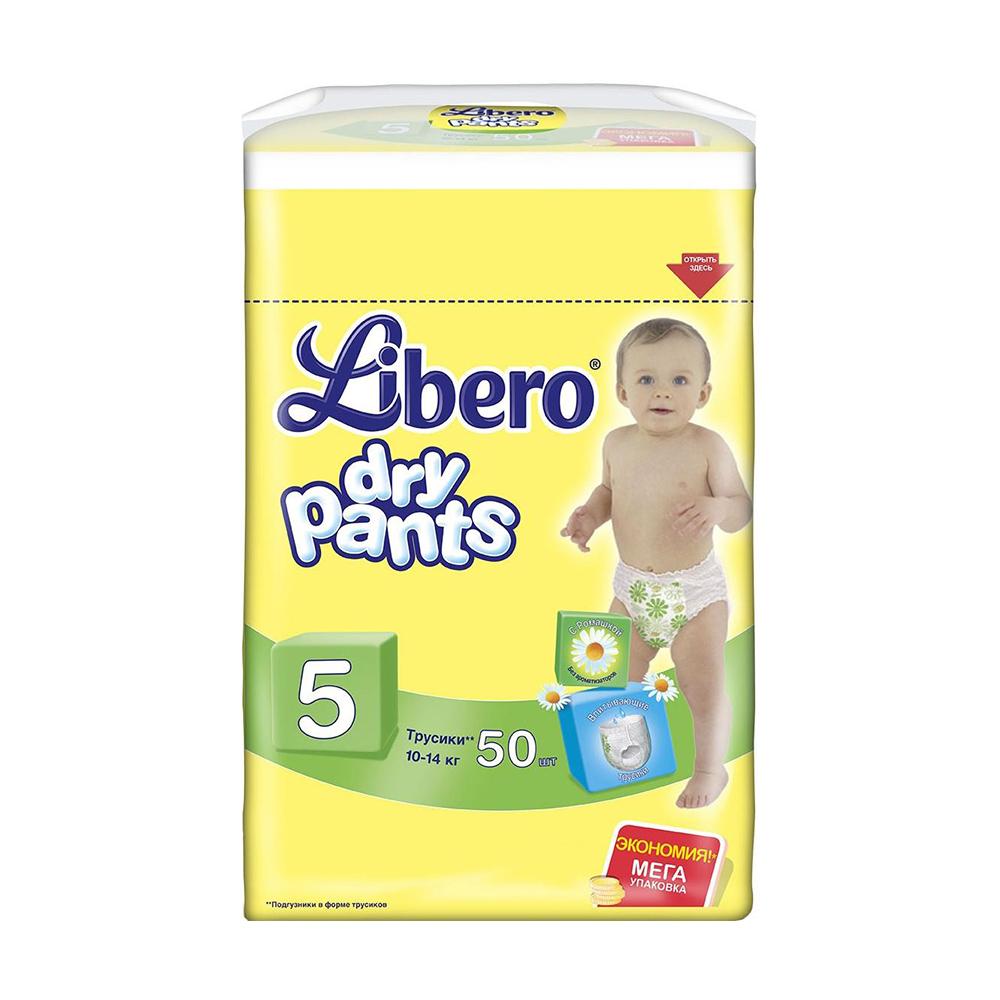 Трусики Libero Dry Pants мега макси плюс (10-14кг), 50шт.