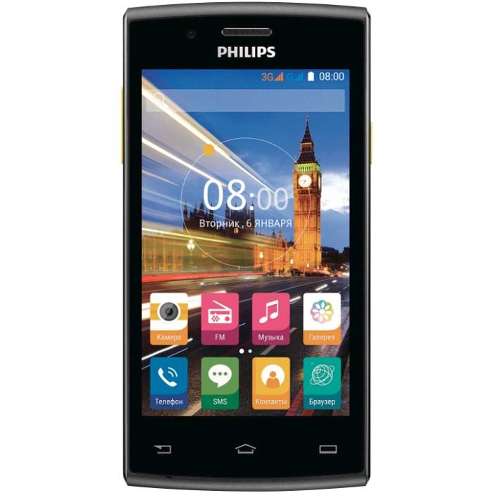 Смартфон Philips S307 черно-желтый