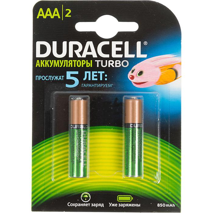 Аккумулятор Duracell HR03-2BL 850mAh AAA 2шт