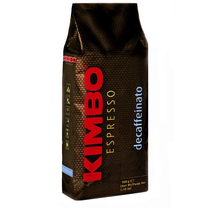Кофе в зёрнах Kimbo Decaffeinato 500 г