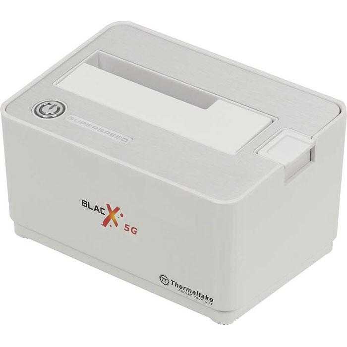"""Док-станция для жестких дисков 2.5"""" или 3.5"""" SATA-USB3.0 Thermaltake ST0043Е BlackX 5G Snow Edition"""