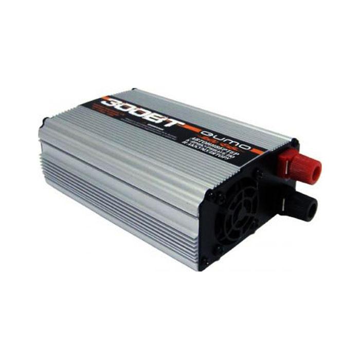 Инвертор для автомобиля Qumo 16184, 12B-220B, 300Вт