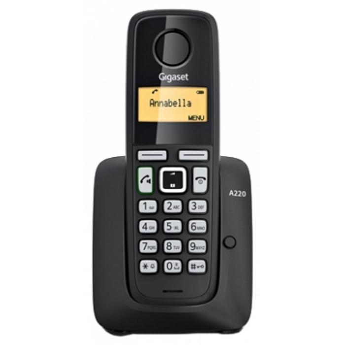 Телефон Dect Siemens A220A Black