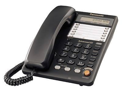 Телефон PANASONIC KX-TS2365RUB, черный