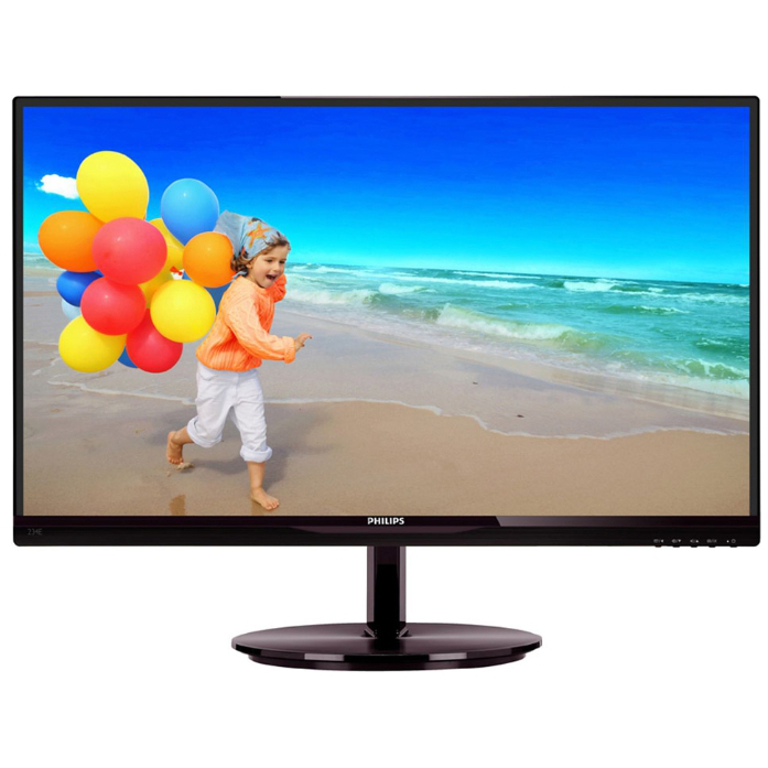 Монитор ЖК Philips 234E5QSB 23″ AH-IPS black VGA DVI