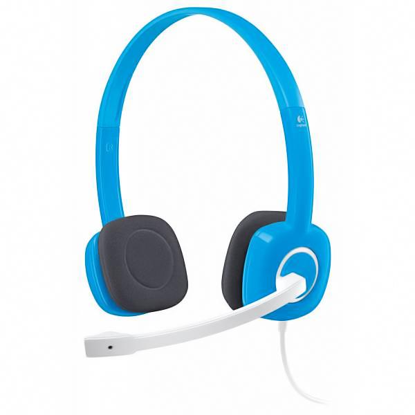 Гарнитура Logitech Headset H150 Sky Blue ( 981-000368 )