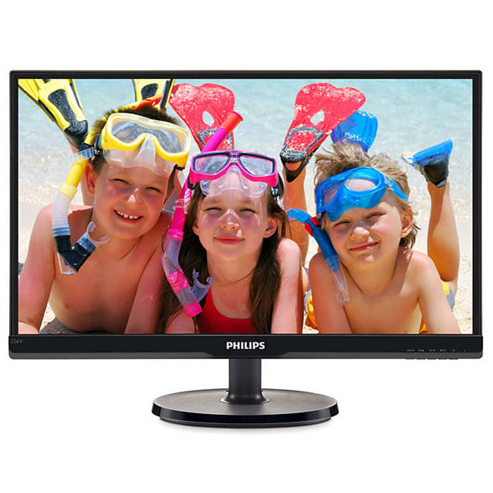 Монитор ЖК Philips 226V6QSB6 21.5″ IPS LED black VGA DVI