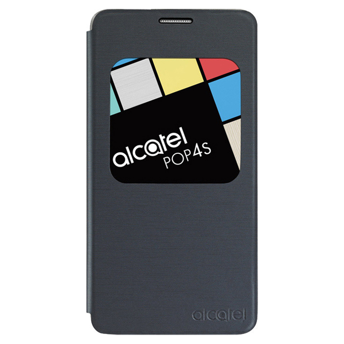 Чехол Alcatel Book-case для Alcatel One Touch 5095K Pop 4 Dual sim, черный