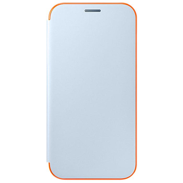 Чехол Neon Flip Cover для Samsung Galaxy A7 (2017) SM-A720F, синий
