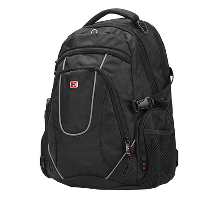 Рюкзак для ноутбука 16″ Continent BP-304, черный, нейлоновый