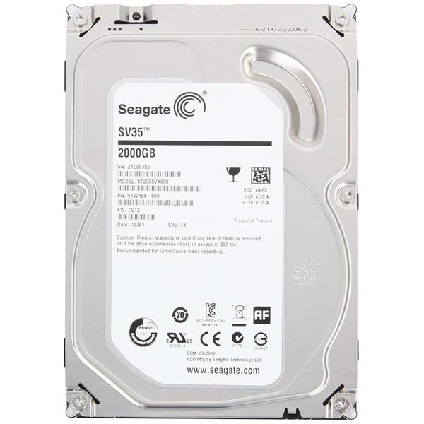 Жесткий диск 3.5″ SATA3 2.0Тб Seagate SV35 Series 7200 ( ST2000VX000 ) OEM