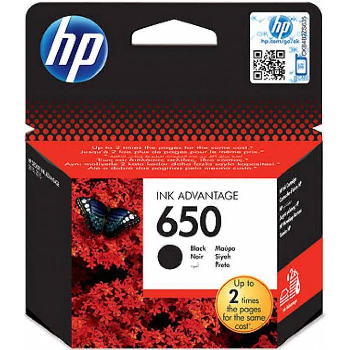 Картридж HP CZ101AE №650 Black