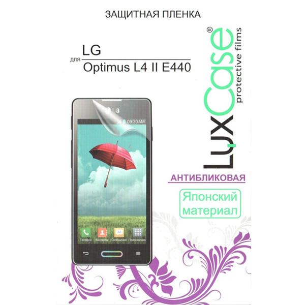 Защитная плёнка для LG Optimus L4 II E440 Luxcase Антибликовая
