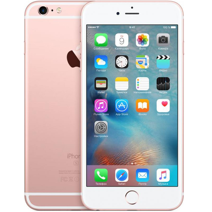 Смартфон Apple iPhone 6s Plus 32Gb Rose (MN2Y2RU/A)