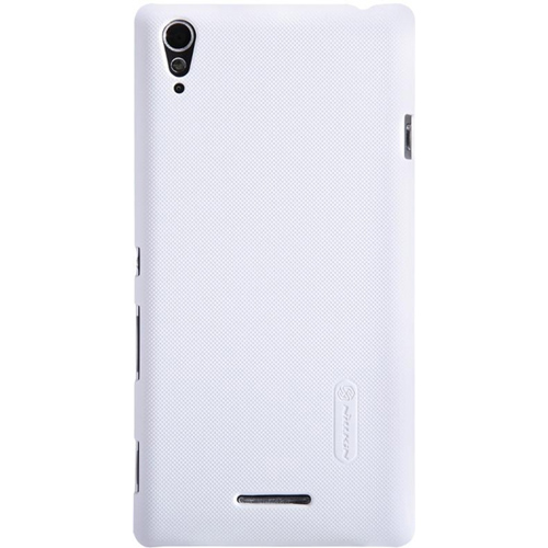 Чехол Nillkin Super Frosted для Sony D5103 Xperia T3 белый