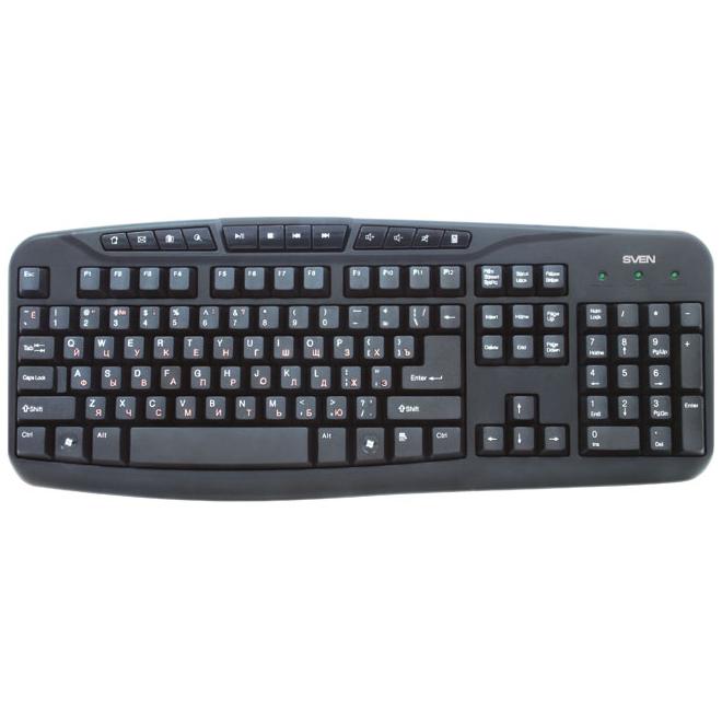 Клавиатура SVEN 3050 Comfort USB Black