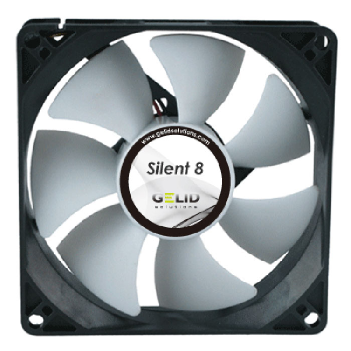 Вентилятор 080мм Gelid Silent 8 1600 об/мин ( FN-SX08-16 )