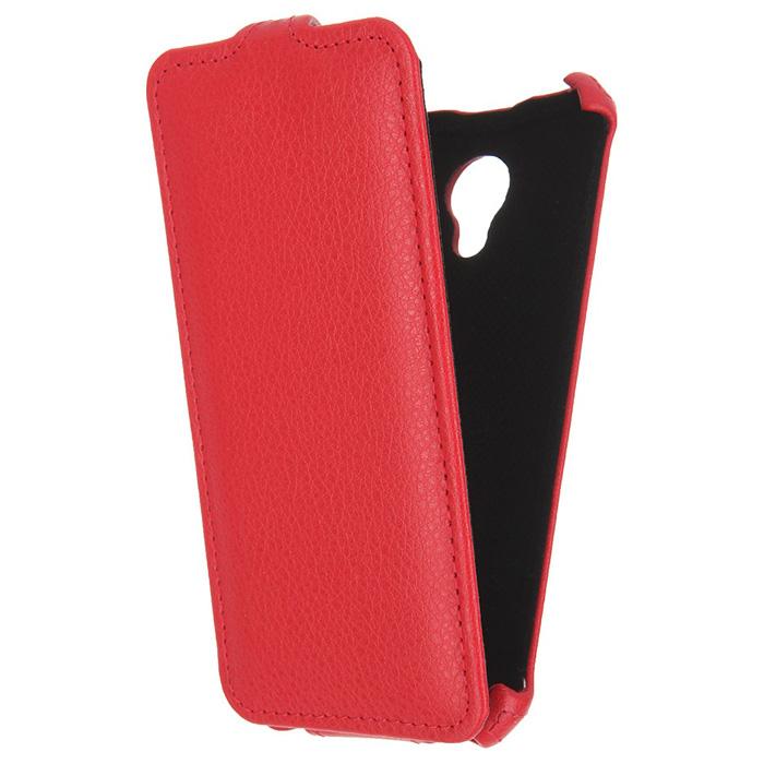 Чехол Gecko Flip для Meizu M2 Mini, красный