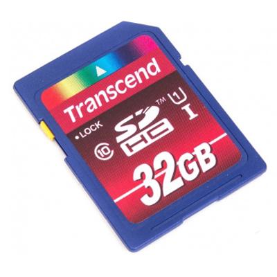 Флеш-карта SDHC 32Гб Transcend UHS-I Class 10 ( TS32GSDHC10U1 )