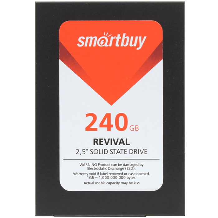 Накопитель 2.5″ SSD SATA3 240Гб Smartbuy Revival ( SB240GB-RVVL-25SAT3 )