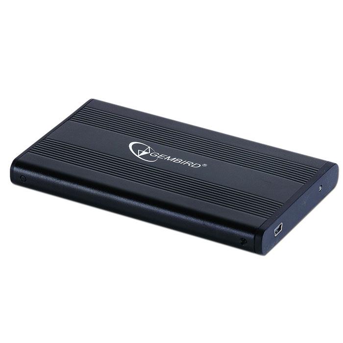 Корпус для HDD 2.5″ SATA-USB2.0 Gembird EE2-U2S-5, черный