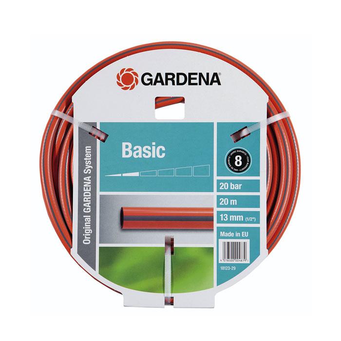Шланг GARDENA Basic 1/2″ — 20м 18123-29.000.00