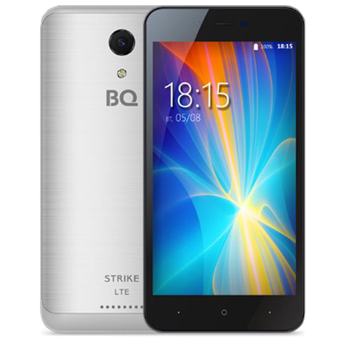 Смартфон BQ Mobile BQ-5044 Strike LTE Silver