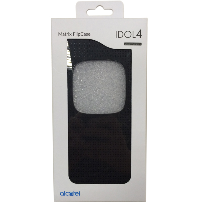 Чехол Alcatel case-book для Alcatel One Touch Idol 4 6055K, черный