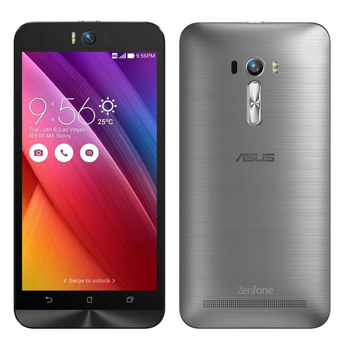 Смартфон 5.5″ASUS ZenFone Selfie ZD551KL 16Gb LTE Dual Sim серебристый (90AZ00U6-M01290)