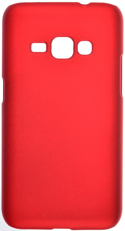 Чехол skinBOX 4People case для Samsung Galaxy J1 (2016) SM-J120F/DS, красный