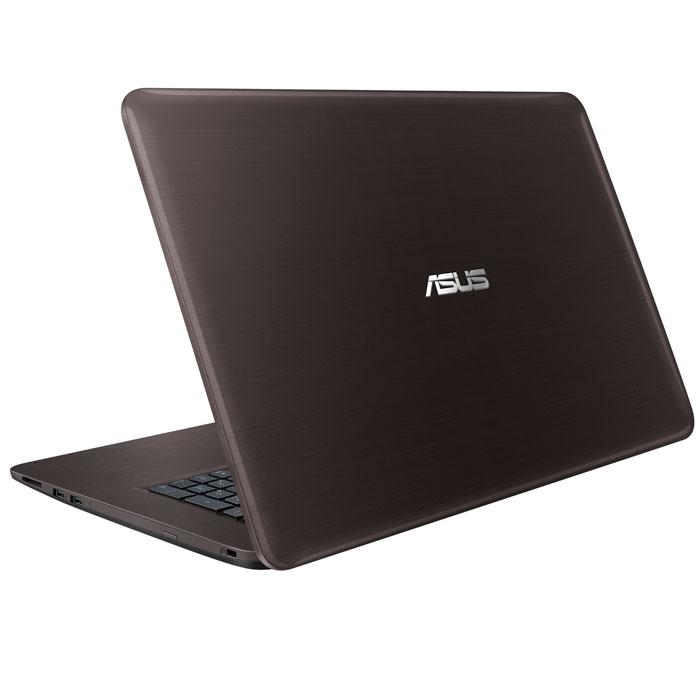 Ноутбук 17.3″ Asus X756UV Core i3 6100U/4Gb/500Gb/NV 920MX 1Gb/17.3″ HD+/DVD/Win10 ( 90NB0C71-M00810 )