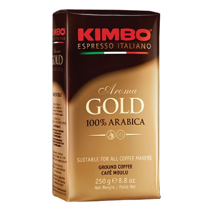 Кофе молотый Kimbo Aroma Gold 100% Arabica 250 гр