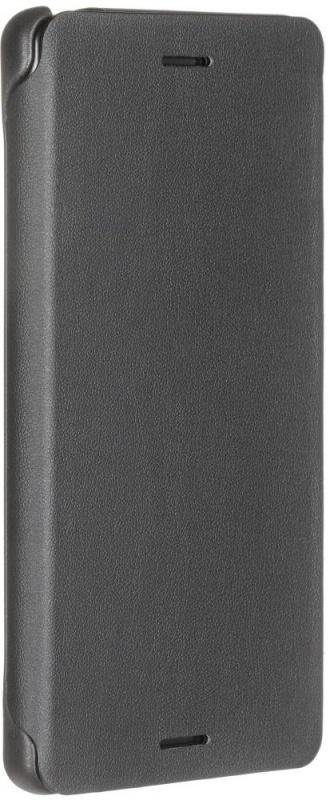 Чехол Flip Cover SCR52 Black для Sony F5121/F5122 Xperia X, черный