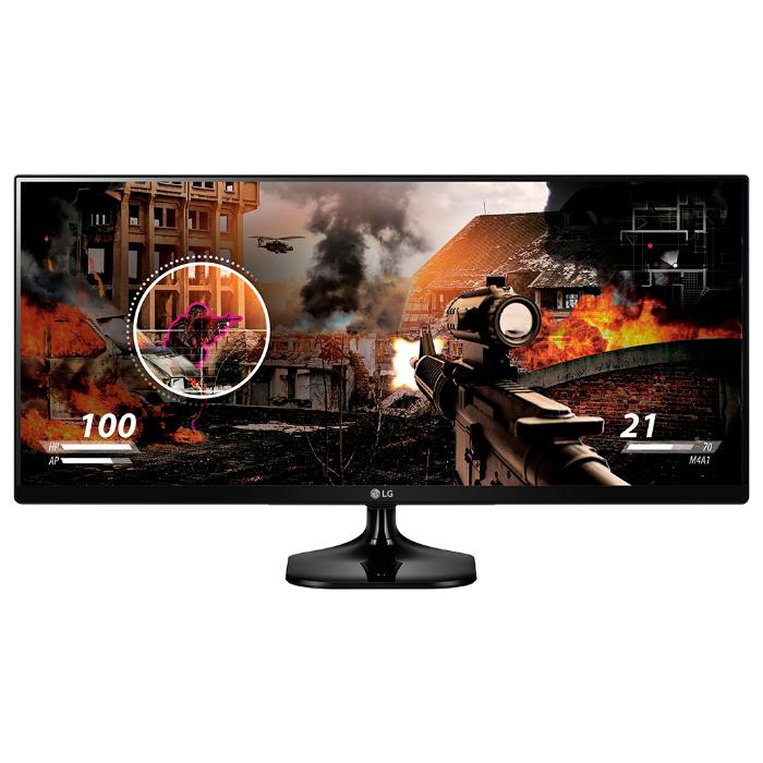 Монитор ЖК LG 25UM58-P 25′ IPS black HDMI