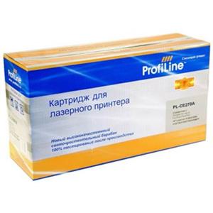 Картридж ProfiLine PL-CE270A Black