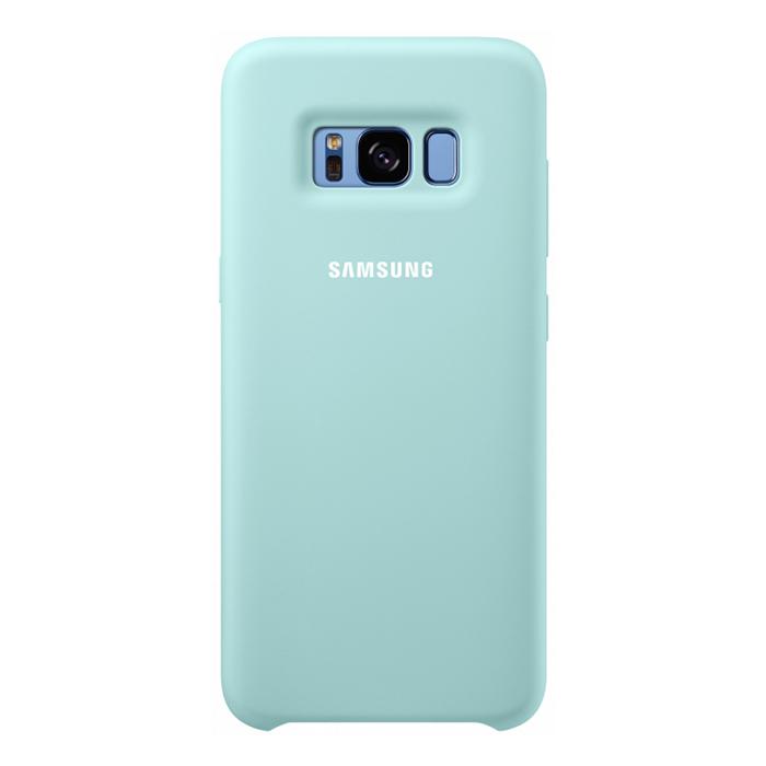 Чехол Samsung Silicone Clear для Samsung Galaxy S8+ SM-G955, голубой
