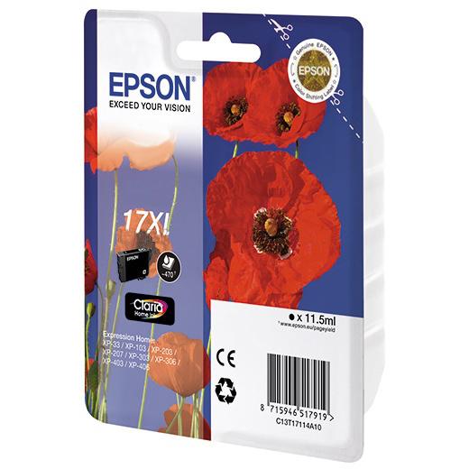 Картридж EPSON C13T17124A10 Claria Home 17XL Сyan для XP-33/103/203/207/303/306/406