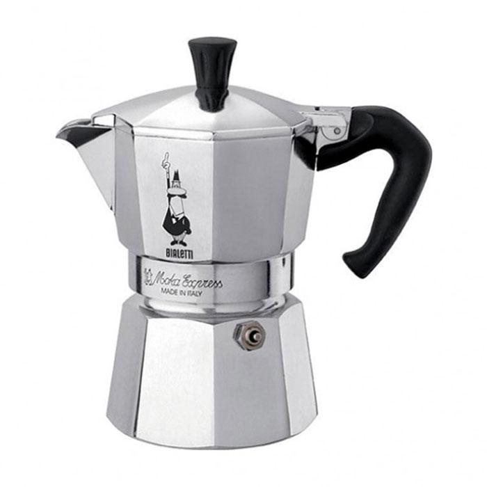 Гейзерная кофеварка Bialetti Moka Express 3 порции 1162