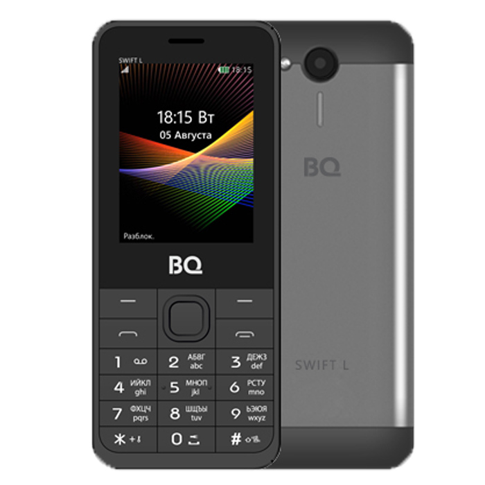 Сотовый телефон BQ Mobile BQ-2411 Swift L Dark-Grey