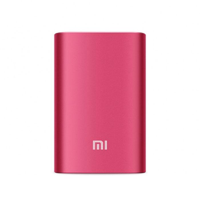 Внешний аккумулятор универсальный Xiaomi 10000 mAh, розовый