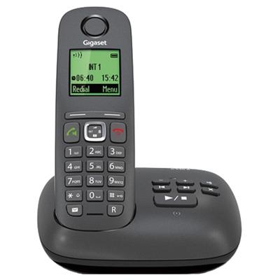 Телефон Dect Siemens A540 A/M черный
