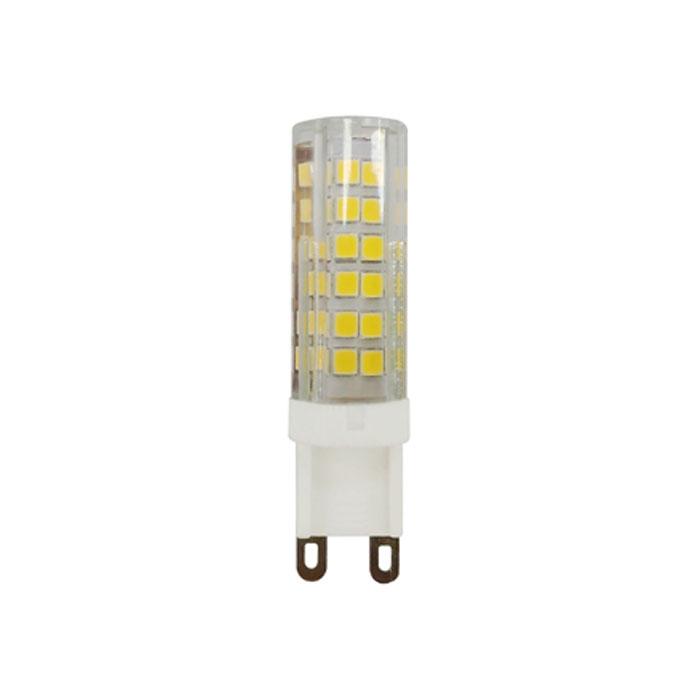 Светодиодная лампа ЭРА JCD G9 7W 230V желтый свет
